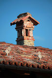 Brick fireplaces Royalty Free Stock Photos