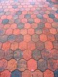Brick floor Royalty Free Stock Image