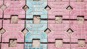 Brick floor Royalty Free Stock Photography