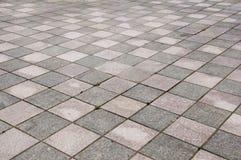 Brick floor Stock Photo