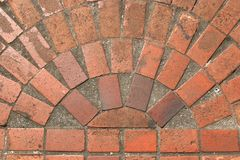 Brick floor design Royalty Free Stock Photo