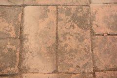 Brick Floor. Old brick floor in temple Royalty Free Stock Photos