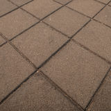 Brick floor Stock Image
