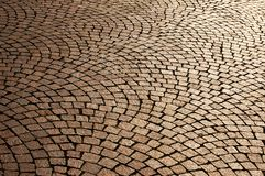 Brick flooring Royalty Free Stock Image