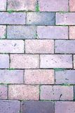 Brick footpath background. Stock Photo