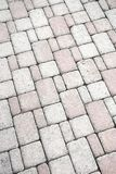 Brick footpath background. Stock Photos