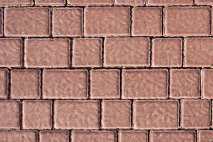 Brick footpath background Royalty Free Stock Image