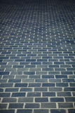 Brick footpath background Stock Photo