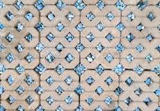 Brick Footpath background Royalty Free Stock Photo
