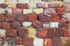 Brick fortress wall 1 Stock Photo