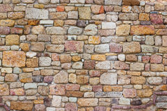 Brick fortress wall 2 Stock Photos