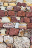 Brick fortress wall Royalty Free Stock Photo