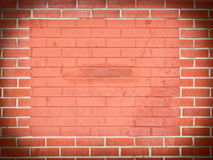 Brick frame Stock Images