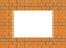 Brick frame Royalty Free Stock Image