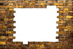 Brick frame Stock Image