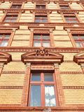 Brick front Royalty Free Stock Photos