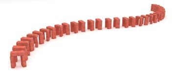 Brick Gates Royalty Free Stock Photos