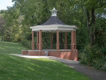 Brick Gazebo Royalty Free Stock Images