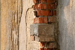 brick gipsu Obraz Stock