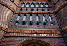 Brick Gothic Stock Image