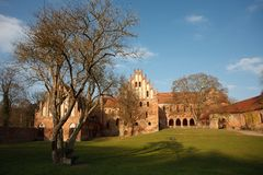 Brick Gothic Chorin Abbey Royalty Free Stock Photos