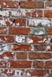 Brick grunge red wall. Masonry texture Royalty Free Stock Image