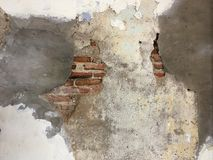 Brick grunge wall. Concrete Royalty Free Stock Photography