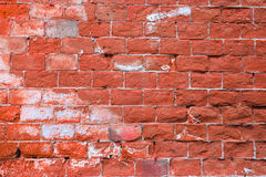 Brick grungy vintage wall texture. Stock Photo