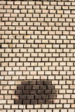 Brick grungy wall texture. Urban city background Royalty Free Stock Images