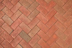 Brick herringbone background Stock Images