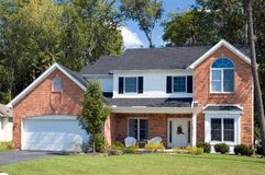 Free Brick Home Royalty Free Stock Photography - 279437