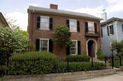 Brick Home stock photography
