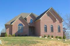 Brick Home In Country. New brick home in country setting, ready to put onto market Stock Images
