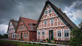 Brick homes and yards