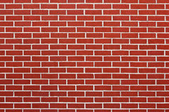 Brick Horizontal Wall Backgrounds Red Textured Royalty Free Stock Photo