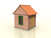 A brick house �2 Stock Images