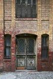 Brick house. An old, brick house at Princes Island, Istanbul Royalty Free Stock Photo