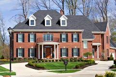 Brick House Stock Image