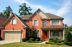 Brick House 6 Royalty Free Stock Images