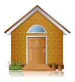 Brick house architecture Royalty Free Stock Image