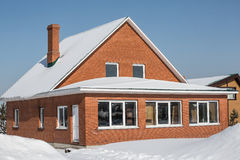 Brick house Stock Photography