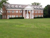 brick house duże czerwone Obraz Royalty Free