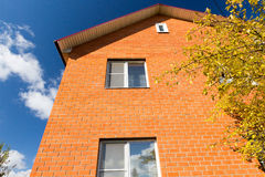 Brick House facade Stock Photography