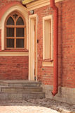 Brick house fragment Royalty Free Stock Images