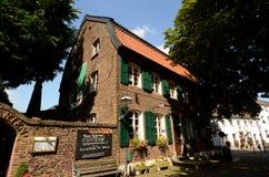 Brick house in Linn - Geramany Royalty Free Stock Photography