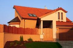 brick house luksus Obrazy Royalty Free