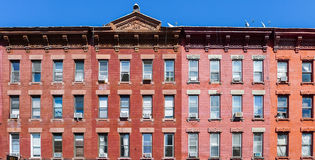 Brick house at Manhattan Ave in Greenpoint Stock Photography
