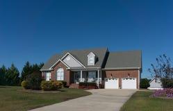Brick house in North Carolina stock photos