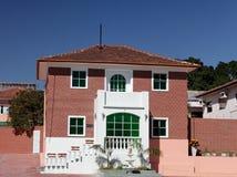 Brick House in Sao Paulo Stock Photo