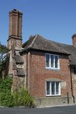 Brick house in Shere. Surrey. England Stock Photo